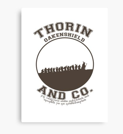 Thorin & Co. {Without symbol} Canvas Print