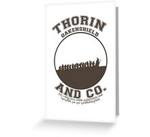 Thorin & Co. {Without symbol} Greeting Card