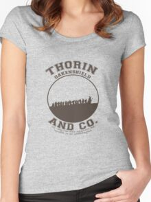 Thorin & Co. {Without symbol} Women's Fitted Scoop T-Shirt