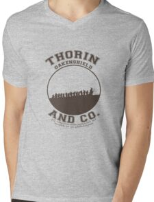 Thorin & Co. {Without symbol} Mens V-Neck T-Shirt
