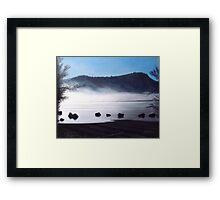 Campbell Lake Framed Print