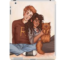 Ron and Hermione iPad Case/Skin