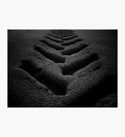BEACH TRACKS Photographic Print