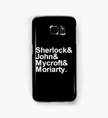 Alternative Beatles Sherlock Style. Samsung Galaxy Case/Skin