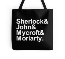 Alternative Beatles Sherlock Style. Tote Bag