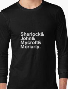 Alternative Beatles Sherlock Style. Long Sleeve T-Shirt