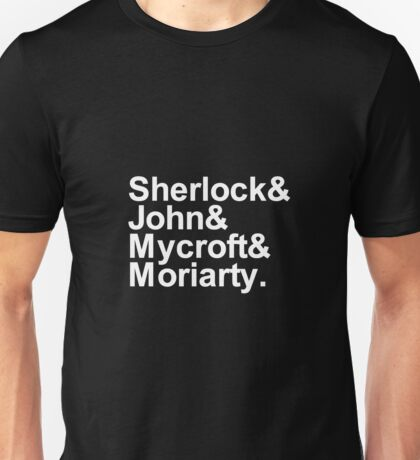 Alternative Beatles Sherlock Style. Unisex T-Shirt