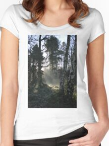 Scenic Trees Women's Fitted Scoop T-Shirt