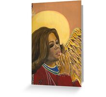 Angel in the Wings Greeting Card