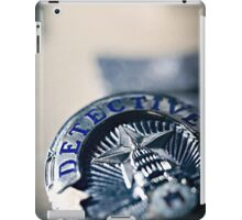 Behind the Badge iPad Case/Skin