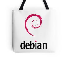 Powered By DebIan ! Tote Bag