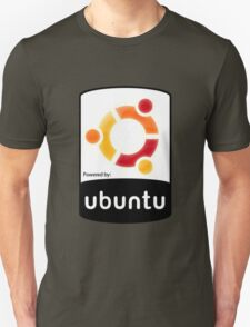 powered by Ubuntu ! T-Shirt