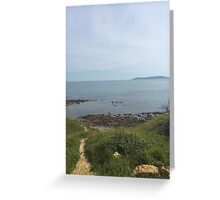 Pathway to the Ocean Greeting Card