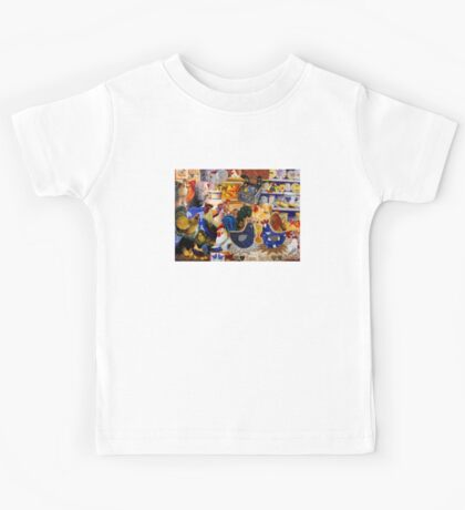 Here a Chook there a Chook Kids Tee