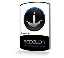 powered by Sabayon ! Greeting Card