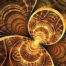 Golden wings by Fiery-Fire