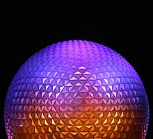 Epcot - Nighttime by disneylandaily