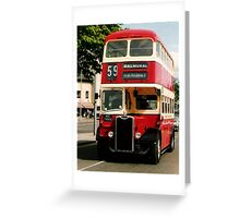 """""""D'you go past the Kings Hall Mister?"""" Greeting Card"""