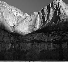 Yosemite Valley Winter Panorama by Zane Paxton