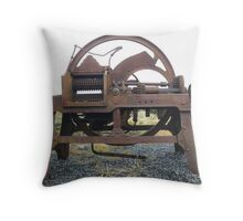 times past Throw Pillow