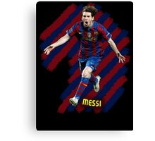 Lionel Messi #1 Canvas Print