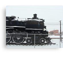 old train engine Canvas Print