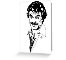 Magnum P.I. - Tom Selleck Greeting Card