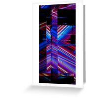 Music and Light Greeting Card