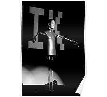 kraftwerk, the robots Poster