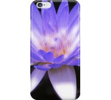 Vibrant purple water lily iPhone Case/Skin