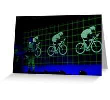 kraftwerk, le tour Greeting Card