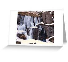 Cold As Ice! Greeting Card