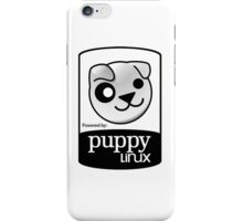 powered by puppy ! iPhone Case/Skin