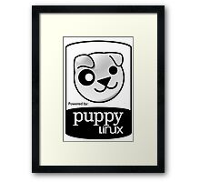 powered by puppy ! Framed Print
