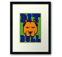 PIT BULL-22A Framed Print