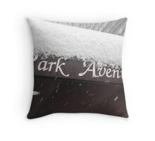 snow day 7 Throw Pillow