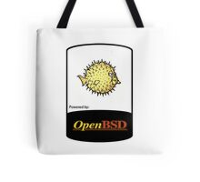 powered by openBSD ! Tote Bag