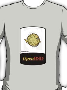 powered by openBSD ! T-Shirt
