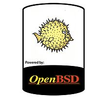 powered by openBSD ! Photographic Print