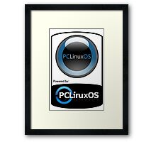 Powered By LINUX ! Framed Print