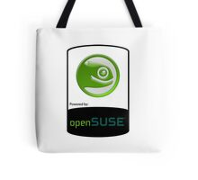 powered by openSUSE ! Tote Bag