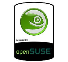 powered by openSUSE ! Photographic Print