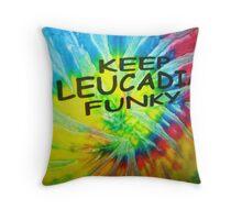 Lasting slogan in Leucadia Throw Pillow