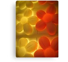 glowing 5 Canvas Print