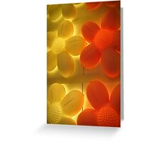glowing 5 Greeting Card
