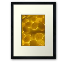 glowing 4 Framed Print