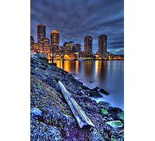 Boston Water Front from Fan Pier Photographic Print