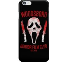 Woodsboro Horror Film Club iPhone Case/Skin