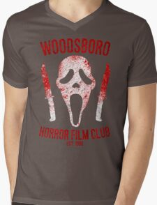 Woodsboro Horror Film Club Mens V-Neck T-Shirt