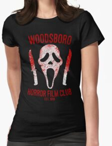 Woodsboro Horror Film Club Womens Fitted T-Shirt